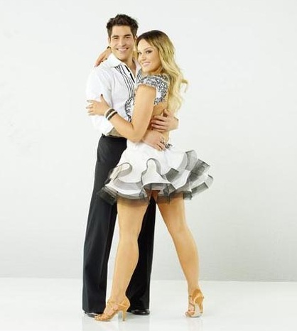 DWTS' Lacey Schwimmer And Mike Catherwood Start Steaming Showmance