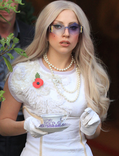 Lady Gaga Thinks She's The 21st Century Princess Diana