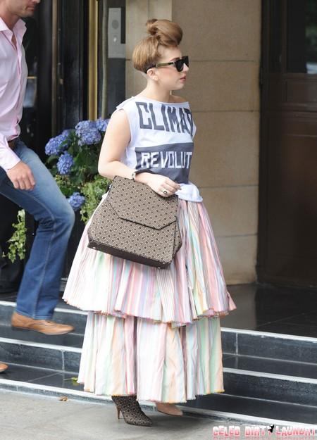 Lady GaGa Pregnant Claims Kelly Osbourne