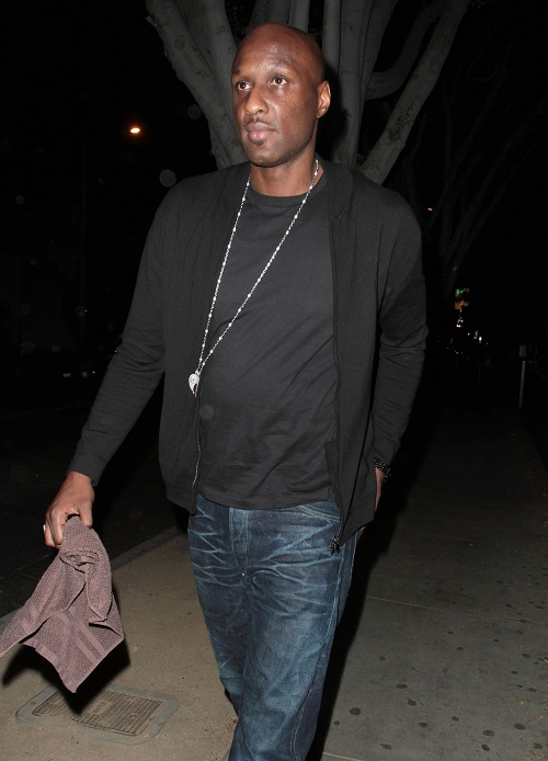 Lamar Odom Dating Mystery Woman, Moving On Healthy From Khloe Kardashian Divorce?