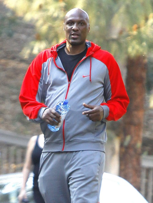 Lamar Odom Set Up by Khloe Kardashian Outside of SoulCycle Gym For More KUWTK Fake Nonesense