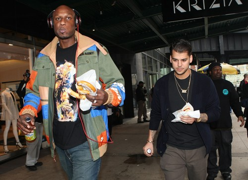 Rob Kardashian Offers Kidney to Lamar Odom: Doctors Refuse as Rob Too Fat and Unhealthy?