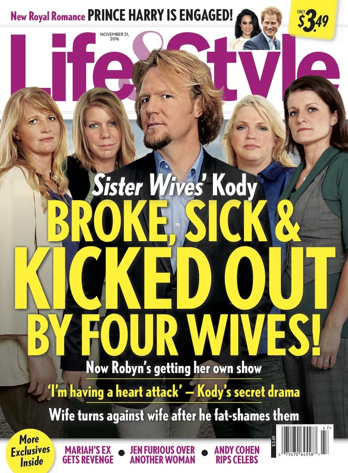 Sister Wives Divorce: Kody Brown Kicked Out By All 4 Wives Due To Major Financial Problems?