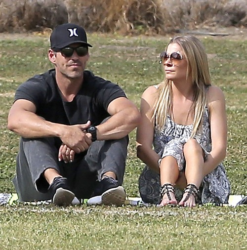 LeAnn Rimes Desperate for Attention Stages Photo-Op at Brandi Glanville's Son's Soccer Game (NEW PHOTOS)