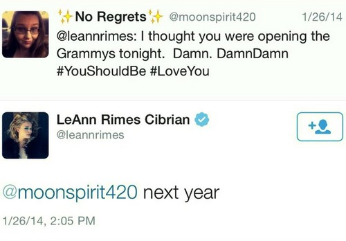 LeAnn Rimes Played a Parking Lot After Tweeting She'd Open The 2015 Grammy Awards