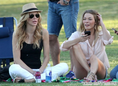 Brandi Glanville Takes The High Road Against LeAnn Rimes