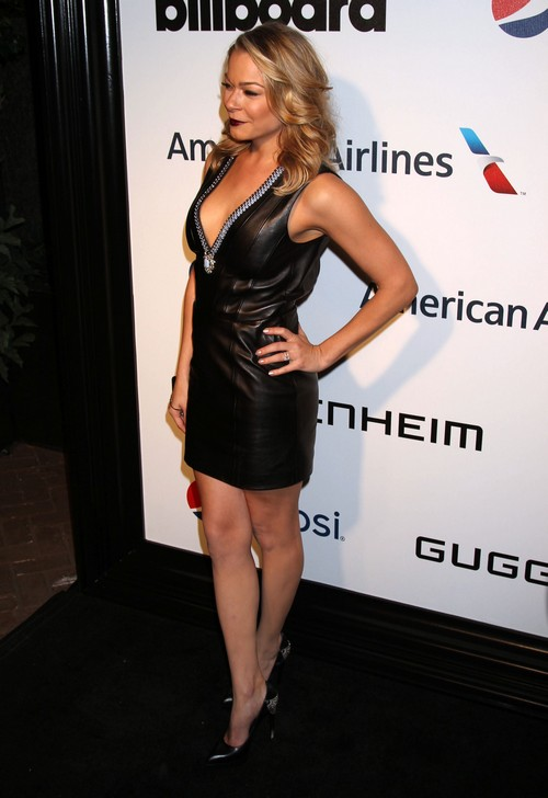 LeAnn Rimes Attends Billboard Party Dressed As A Dominatrix - Still Trying To Look Like Brandi Glanville? (PHOTOS)