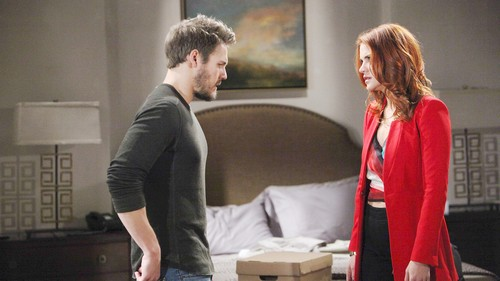The Bold and the Beautiful Spoilers: Wednesday, January 10 - Liam Tells Bill He's Ruined Baby's Life - Liam Tells Sally Back Off