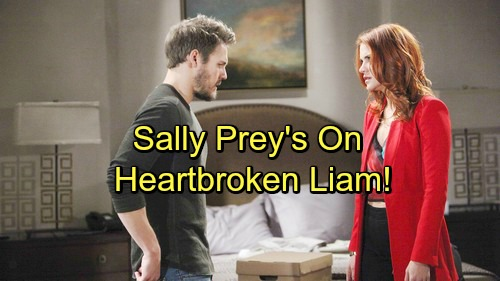The Bold and the Beautiful Spoilers: Pushy Sally Preys on 'Steam' Breakup – Liam Obsession Spirals Out of Control