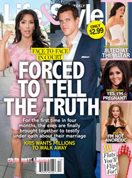 Kim Kardashian Forced To Tell The Judge The Truth In Her Divorce Case (Photo)