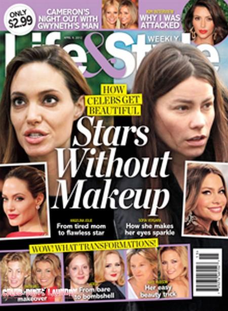 How Celebs Get Beautiful - Stars Without Makeup (Photo)