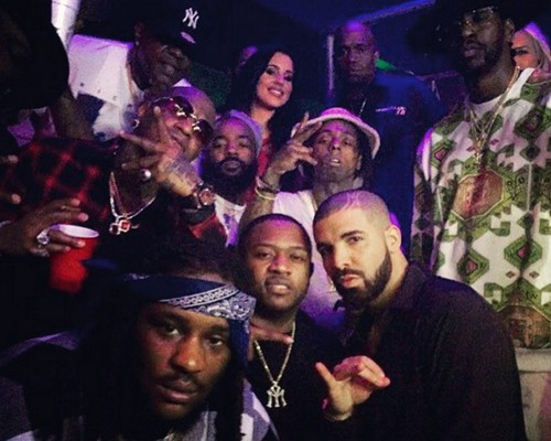 Lil Wayne and Birdman Feud Over: YMCMB Reunion at Drake's NYE Party In Miami