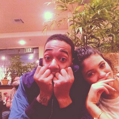 Kylie Jenner And Lil Za Hooking Up and Taking Drugs In Justin Bieber's Weed Kitchen?