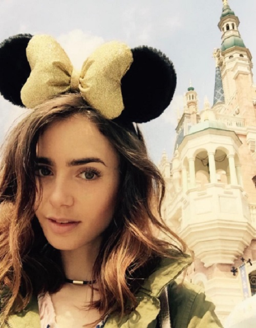 Lily Collins Opens Up About Past Eating Disorders