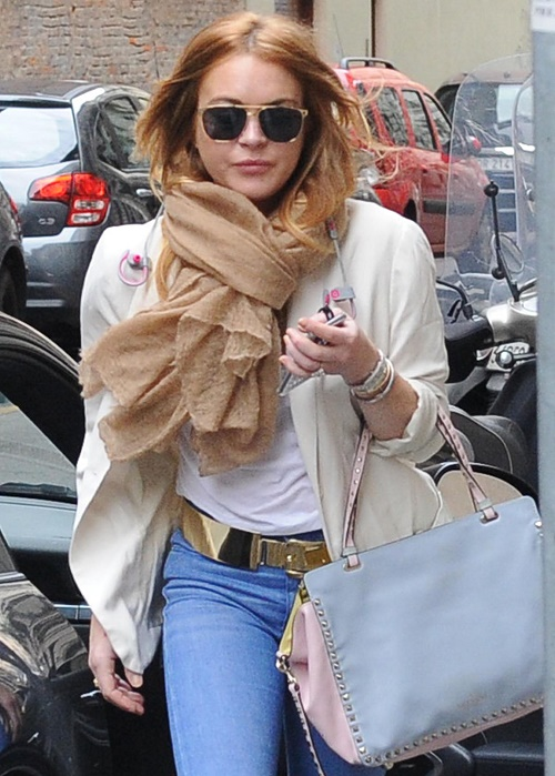 Lindsay Lohan Going to Jail Again? Fails Community Service Requirement, Chooses To Party Instead