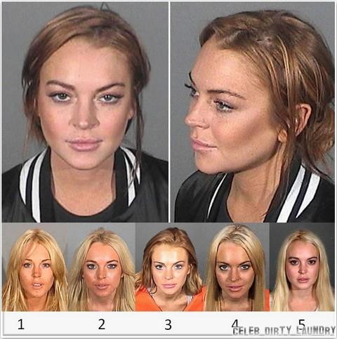 Lindsay Lohan's Mug Shot Album - See Her On Drugs (Photos)