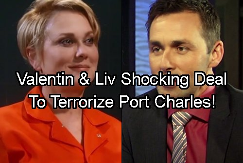 General Hospital Spoilers: Valentin and Liv's Secret Revenge Pact Revealed – Lady Jerome Did His Dirty Work