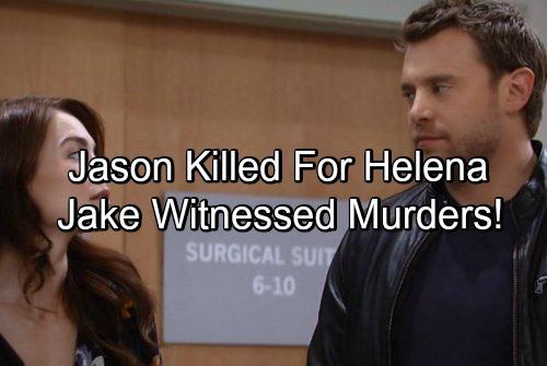 General Hospital Spoilers: Jake Witnessed Stone Cold Kill for Helena – Liz Horrified by Murder Memories, Moves Franco In