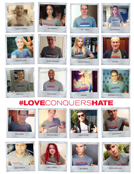 Human Rights Campaign Aligns With Russia's LGBT Community In #LoveConquersHate Initiative As 2014 Sochi Olympics Approach