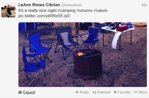 LeAnn Rimes Goes Camping Without Eddie Cibrian and Subdues Her Multiple Twitter Account Rant