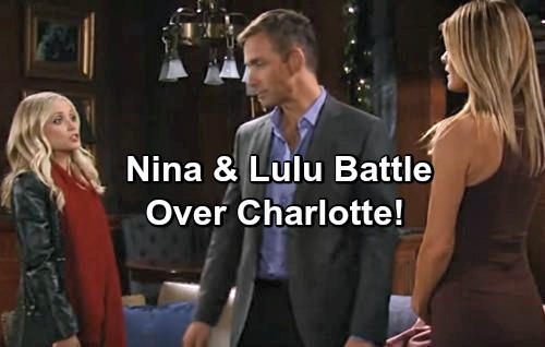 'General Hospital' Spoilers: Lulu and Nina Brawl at Maxie and Nathan's Wedding Over Charlotte