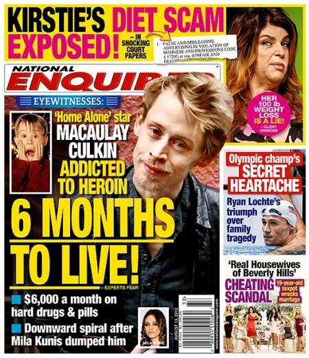 Report: Macaulay Culkin Set To Follow Whitney Houston