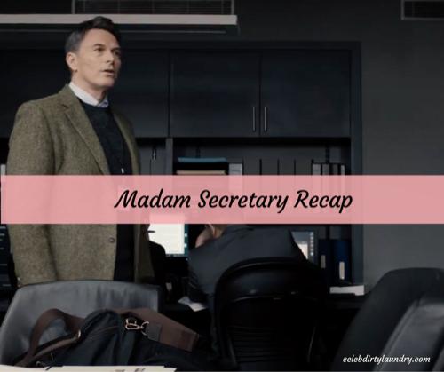 """Madam Secretary Recap 3/12/17: Season 3 Episode 15 """"Break in Diplomacy"""""""