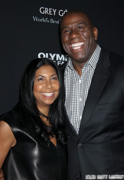 Magic Johnson Worries About Son E.J. Johnson's Unprotected Sex and Partying