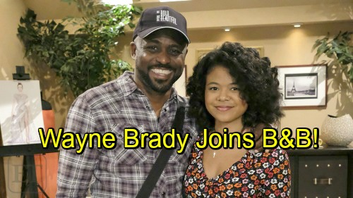 The Bold and the Beautiful Spoilers: Wayne Brady Debuts as Dr. Buckingham - Zoe's Father Gets Tangled in Mysteries and Passion