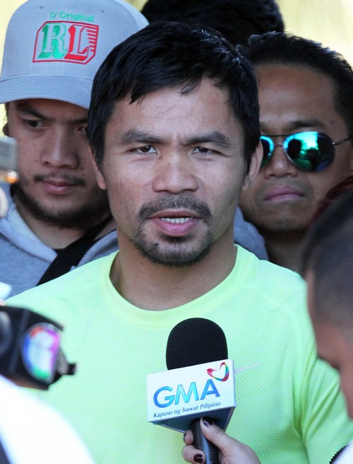 Manny Pacquiao Sued: Did Not Reveal Injured Shoulder Before Floyd Mayweather Fight
