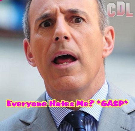 Everyone Who Works for the 'Today Show' Hates Matt Lauer with a Steamy Passion