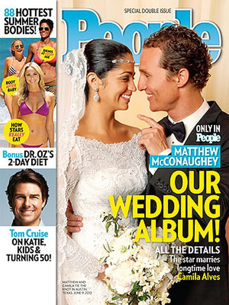 Matthew McConaughey And Camila Alves Wedding Photos Here