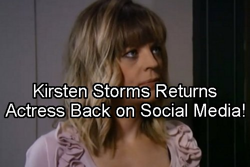 General Hospital Spoilers: Kirsten Storms Breaks Social Media Silence, Posts New Pic - Maxie Back to GH Soon?