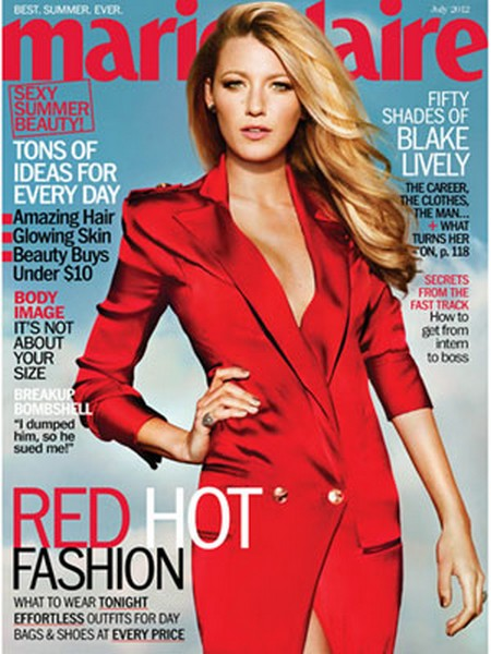 Marie Claire Cover: Blake Lively Is No Tramp (Photo)