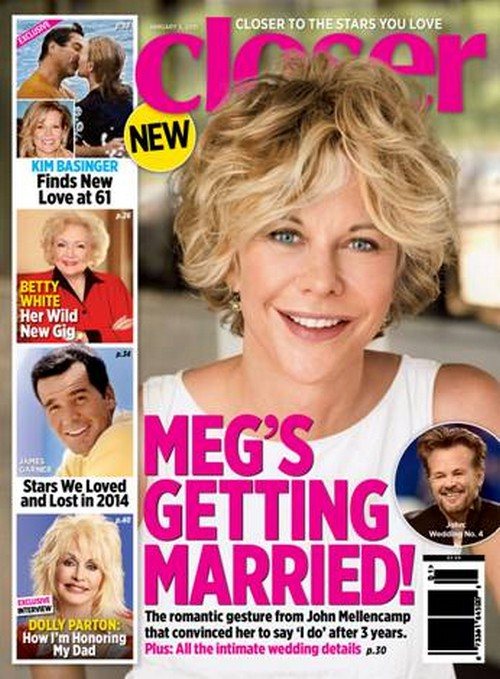 Meg Ryan Getting Married To John Cougar Mellencamp - Meg and Daisy Spotted Heading For Proposal!