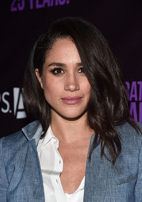 Meghan Markle Won't Discuss Reports About Marrying Prince Harry