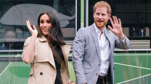 Prince Harry gave Meghan a 'warning' just before their relationship went public