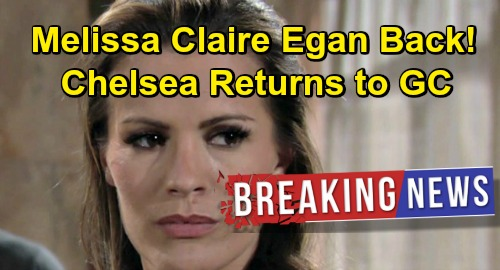The Young and the Restless Spoilers: Melissa Claire Egan Returns As Chelsea Newman