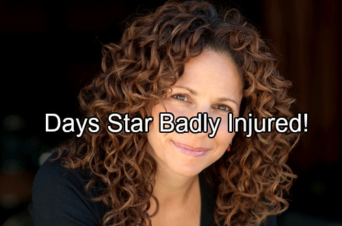 Days of Our Lives Spoilers: DOOL Star Badly Injured in Domestic Accident