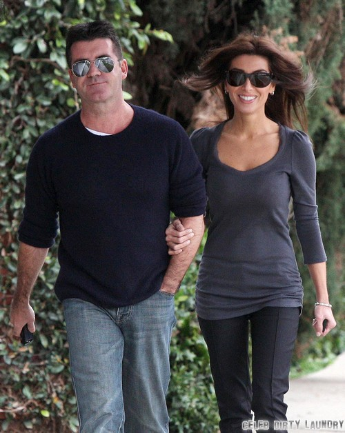 Simon Cowell's Ex-Fiance Mezhgan Hussainy Pays A Visit After Lauren Silverman Baby News - She Wants To Get Pregnant Too?