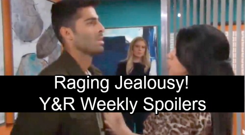 The Young and the Restless Spoilers: Week of November 19 – Stunning J.T. Confession, Raging Jealousy and Jack's Thanksgiving Date