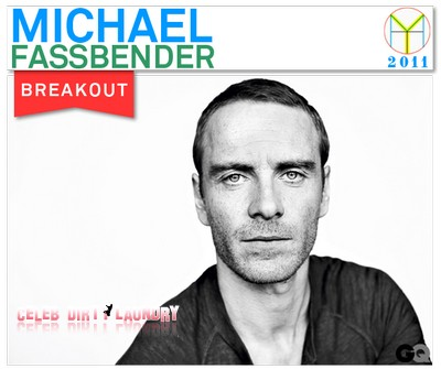 Michael Fassbender GQ's Man of the Year!