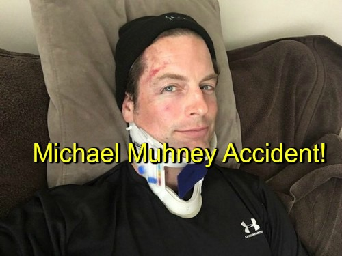 The Young and the Restless (Y&R) Spoilers: Michael Muhney Suffers Traumatic Injuries in Racing Accident