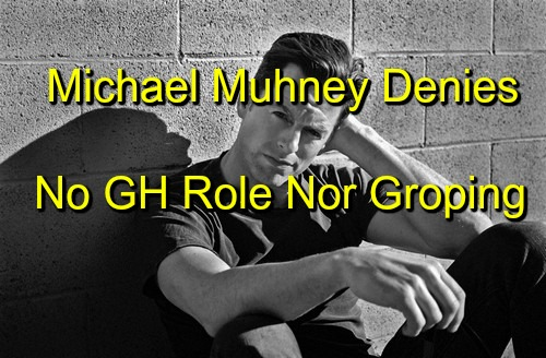 The Young and the Restless Spoilers: Michael Muhney Says 'NO' General Hospital Role - Denies Hunter King Sexual Harassment