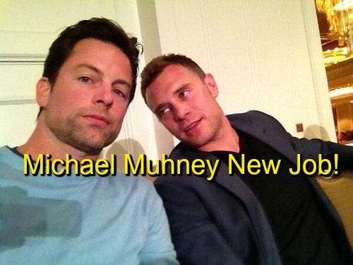 General Hospital Spoilers: Michael Muhney Tweets About New Job - Days of Our Lives EJ DiMera or GH Lucky Spencer?