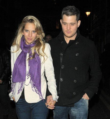Michael Buble's Wife, Luisana Lopilato Models Ultimo Lingerie (Photo)