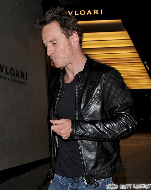 Michael Fassbender Spotted With Mystery Blonde Woman: Cheating On Louise Hazel?