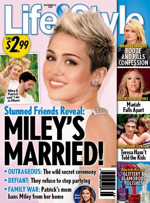 Miley Cyrus And Patrick Schwarzenegger Married