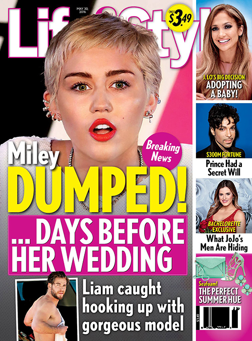 Miley Cyrus and Liam Hemsworth Break-Up After Liam Hooks Up With Gorgeous Model?