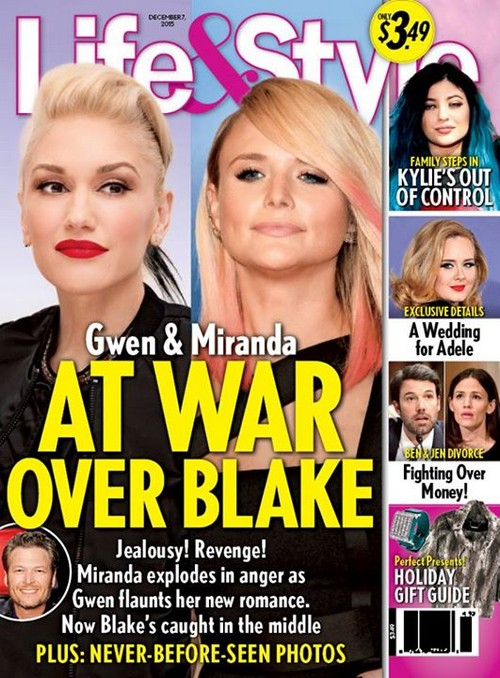 Gwen Stefani and Miranda Lambert Battle Over Blake Shelton: Blake Doesn't Want Ex-Wife Back, Miranda Broke His Heart!